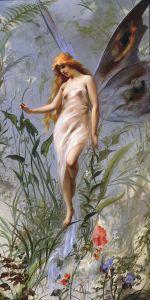 Lily Fairy, Falero Luis Ricardo, 1888