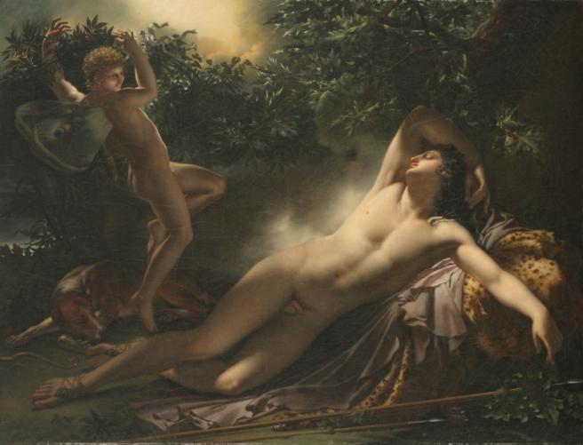 The Sleep of Endymion, Girodet